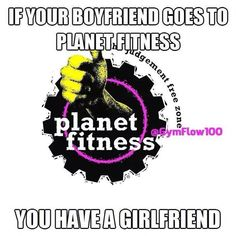 Planet Fitness. Right Dustin Mattson