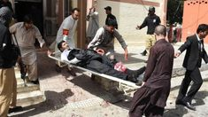 A suicide bomb attack has killed at least 70 people at a hospital in Quetta in south-west Pakistan, officials say. About 120 others were injured in the blast, which happened at the entrance to the emergency department where the body of a prominent lawyer shot dead earlier on Monday was being brought.