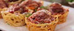 Необычные блюда— Маффины изспагетти!