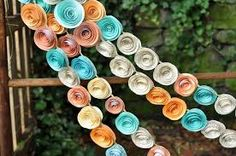 wedding orange teal pink - Google Search
