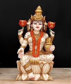 Lakshmi statue,8 Inch, Marble Goddess Lakshmi Idol, Diwali Puja Idol, MA Laxmi Sculpture, Indian Goddess of Wealth, money, Prosperity by Shivajiarts on Etsy Lakshmi Statue, Kali Statue, Saraswati Statue, Star Goddess, Indian Goddess, Goddess Lakshmi, Best Diwali Gift, Diwali Gifts, Hindu Culture
