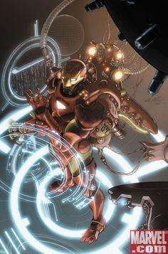 Invincible Iron Man by Salvador Larroca