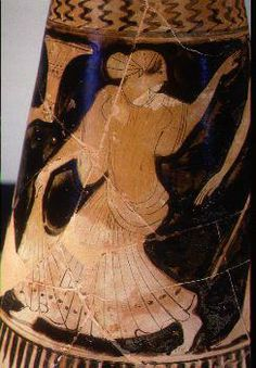 Athletic competitions for women did exist in ancient Greece. The most famous was a maidens' footrace in honor of the goddess Hera, which was held at the Olympic stadium. There were 3 separate races for girls, teenagers, and young women. The length of their racecourse was shorter than the men's track; 5/6 of a stade (about 160 m.) instead of a full stade (about 192 m.). The winners received olive crowns just like Olympic victors.