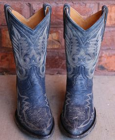 Rivertrail Mercantile - Old Gringo Nevada Blue Cowgirl Boot, $350.00 (http://www.rivertrailmercantile.com/old-gringo-nevada-blue-cowgirl-boot/)