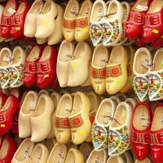 Wooden shoes a typical Dutch object but it doesn't mean everyone is wearing them nowadays. In fact, you won't see people walking on wooden shoes at all.