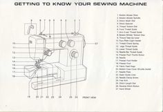 elina 40 sewing machine instruction manual