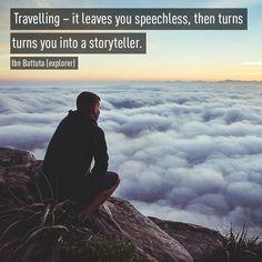Are you a storyteller?  #maximustravellers #musafirhoonyaaro...  Instagram travelquote
