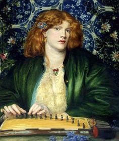 1865 The Blue Bower, Dante Gabriel Rossetti