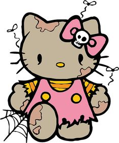 zombie hello kitty free
