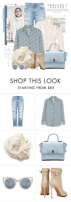 """""""Sem título #2480"""" by bellerodrigues ❤ liked on Polyvore featuring Agent Provocateur, Genetic Denim, Peter Pilotto, Yves Saint Laurent, Hat Attack, Erdem and Givenchy"""