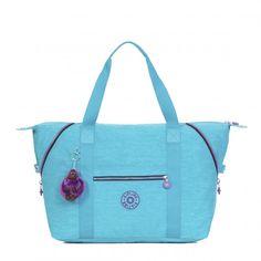 Kipling Art M Tote Bag - Cool Turquoise - Kipling