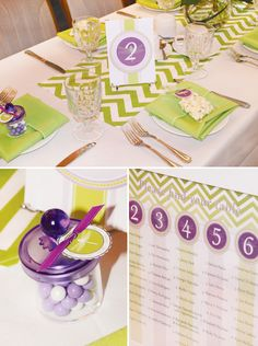 baby+shower+chevron+theme | Dragonfly Baby Shower {Ombre Chevron Stripe} // Hostess with the ...