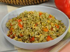 Sunny's Nunya Business Instant Rice and Pesto Recipe : Sunny Anderson : Food Network - FoodNetwork.com