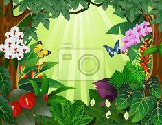 Sticker grandir, personne, cachotterie, arbuste, implanter, panoramique paysage.