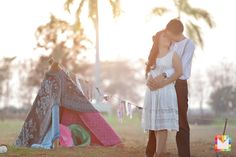 Reon + Berna Engagement Session – A Boho and Vintage Inspired E- Session at Lakeshore Pampanga » apicturesque.com