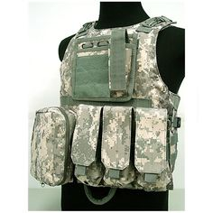 39.02$  Buy here - http://ali143.shopchina.info/1/go.php?t=32816327529 - ACU Color Amphibious Tactical Military Molle Waistcoat Combat Assault Plate Carrier Vest Hunting Protection Vest Camouflage  #buyonline