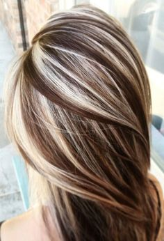 37 Cream Blonde Hair Color Ideas for This Spring 2019 - Wedding Hair - hair Cream Blonde Hair, Brown Blonde Hair, Light Brown Hair, Blonde Curls, High Lights Brown Hair, Blonde With Low Lights, High And Low Lights, Black Hair, Brunette Color