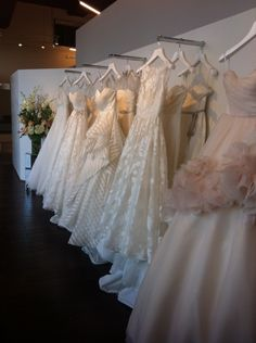 OMG this is where I got my dress 3 weeks ago!!! Amazing place. Hayley Paige Bridal in Houston, TX at Now and Forever.
