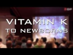 """Dr. Suzanne Humphries speaks on giving vitamin K to newborns. There is a reason, why newborns don't have a full koagulation.. nature didn't make """"mistakes"""" l..."""