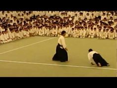Ueshiba Mitsuteru at All Japan Children's Aikido Training