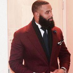 Black Men's Hairstyles That will keep you looking Fresh - Goteo Black Men Beards, Handsome Black Men, Black Man, Black Girls, Bad Beards, Beard Game, Gorgeous Black Men, Sexy Beard, Beard Lover