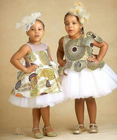 Charming Ankara Clothing for Kids - Ani Exclusive Baby African Clothes, African Dresses For Kids, Latest African Fashion Dresses, African Print Dresses, African Children, African Prints, Baby Girl Dress Patterns, Baby Girl Dresses, Baby Dress