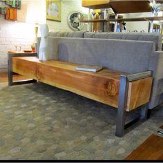 7' monster beam bench.