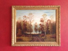 Watercress Springs Estate Sales Weston CT Moving Sale May 9th-10th, 2015 - Signed Painting