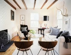 for the love of gold: currently coveting: rustic modern charm