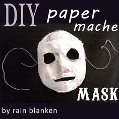 Learn how to make a custom-fit paper mache mask at home. No need to spend a ton of money on a mediocre mask when you can make one yourself.