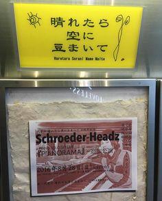 Schroeder-Headzのピアノソロセット観に行ってきた。夏→秋→冬→春に変化しながら紡がれてく曲達はどれも素敵だった。畳で足痺れたけど間近で指づかい見れて感動。
