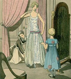 gravure jeanne Lanvin1922 - 2