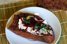 Bite me, I'm vegan: Virtual Vegan Potluck: Beet Black Bread Vegan Blogs, Vegan Recipes, Snack Recipes, Snacks, Vegan Potluck, Vegan Cream Cheese, Rye Bread, Blog Entry, Beets