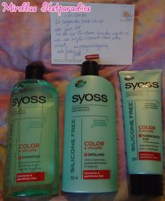 I won the Syoss set without silicone for color & Volume.