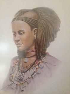 Ethiopian woman by Adis Gebru