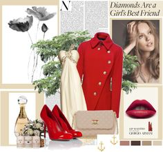 """""""RED"""" by carolinee16 on Polyvore"""