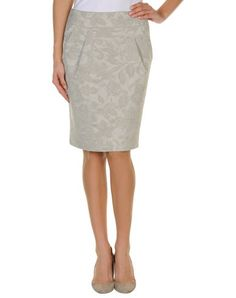 Emporio armani Women - Skirts - Knee length skirt Emporio armani on YOOX