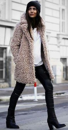 INSPIRATION   FUR AND SHEARLING #inspiration