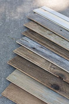 Amazon.com: Epic Artifactory DIY Reclaimed Barn Wood Wall - Easy Peel and Stick Application, 20 sq. ft.: Home & Kitchen