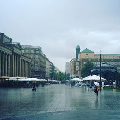 #Stuttgart #Regen