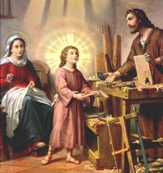 The Holy Family at Home