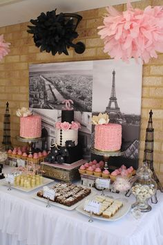 f85f03f9b5ff94 Sandy s Cakes  Kate s Beautiful French Kitchen Tea Chanel Baby Shower