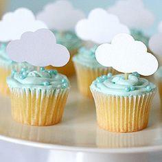 Resultado de imagen para baby shower tematica nubes