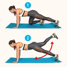 6 exercise to get rid of cellulite. 2 week challenge to reduce cellulite. Get slim and sexy butt and toned thigh with this workout plan. Workout to tone your butt and thigh's muscles. Bikini body challenge.