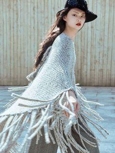 Cong He by Yin Chao for Vogue China November 2015