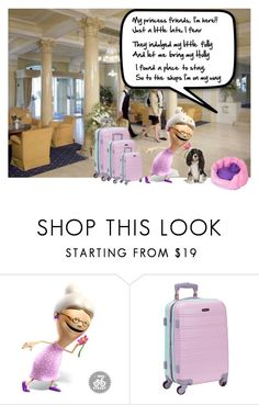 """""""Princesses trip to Copenhagen"""" by lorrainekeenan ❤ liked on Polyvore featuring Rockland Luggage"""