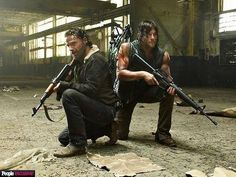 TWD S5 Promo pic // Rick & Daryl