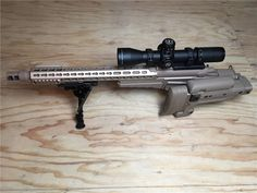 """Surgeon CSR The """"Concealable Sniper Rifle"""" uses the Accuracy International AX chassis with a high end, custom made action based on the Remington 700. Although a very accurate rifle, the combination of..."""