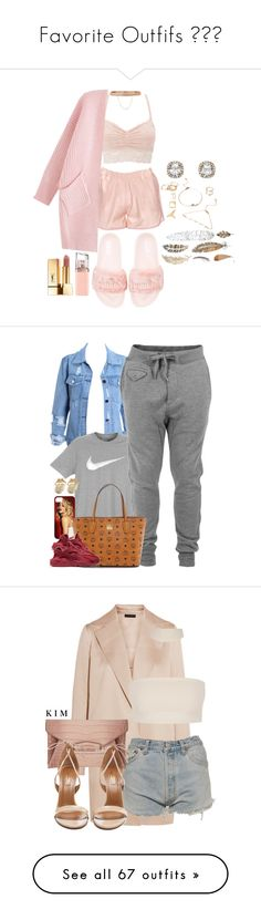 """""""Favorite Outfifs ✨"""" by drakelyrics ❤ liked on Polyvore featuring Anine Bing, Charlotte Russe, Puma, Eddie Borgo, Forever 21, HUGO, Yves Saint Laurent, NIKE, Diesel and MCM"""