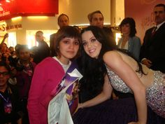 #KP3D   Me and KATY PERRY <3 The best day of my life :') katy is the most beautiful person in the world !!!